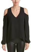 Eight Sixty Cold-shoulder Blouse.