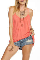 Chaser Melon Crossback Cami