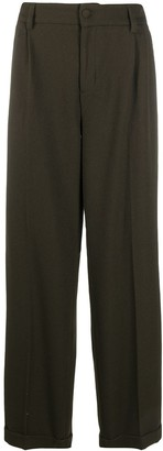 Daily Paper Tailored-Slouch Wide Leg Trousers