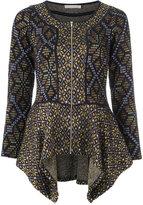 Cecilia Prado peplum knit jacket