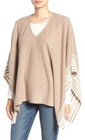Splendid Women's Stripe Knit Poncho