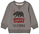 Levi's Grey Marl California Logo Sweatshirt