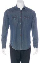 Eleventy Chambray Woven Shirt w/ Tags