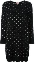 Giamba polka dots knit dress - women - Polyamide/Angora/Virgin Wool - 42