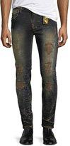 Robin's Jeans Marlon Studded Slim Jeans