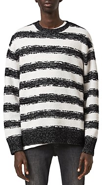 AllSaints Boucle Striped Sweater