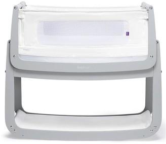 SnuzPod 4 Bedside Crib with Mattress - Dove Grey