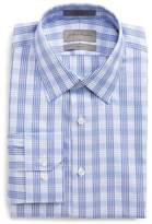 John W. Nordstrom Trim Fit No-Iron Check Dress Shirt