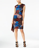 Catherine Malandrino Dynell Animal-Print Sheath Dress
