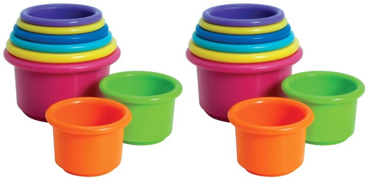 The First Years Stack Up Cups 2 pack