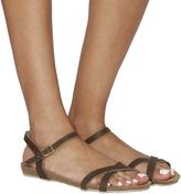 Office Safari Cross Strap Sandals