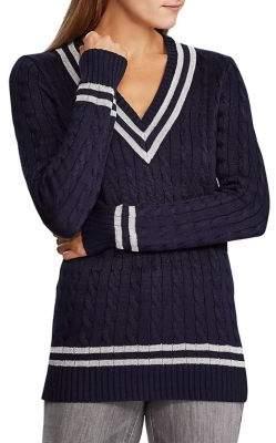 Lauren Ralph Lauren Cable-Knit Cricket Sweater