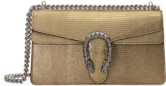 Gucci Dionysus metallic lizard small shoulder bag