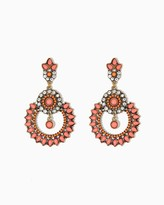 Charming charlie Tracy Cluster Earrings