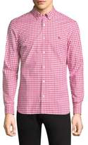 Burberry Gingham Button-Down Shirt