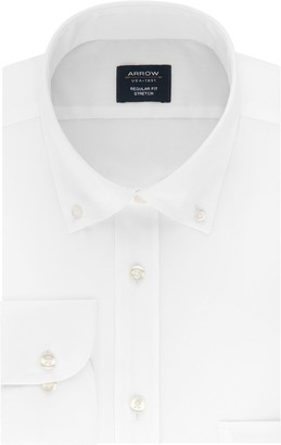 Arrow Men's Regular-Fit Stretch Dress Shirt