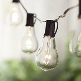 Crate & Barrel Vintage Edison Bulb Outdoor String Lights