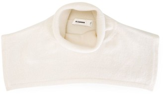 Jil Sander Ribbed Roll Neck Collar