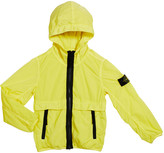 Stone Island Boy's Lightweight Hooded Jacket w/ Contrast Trim, Size 2-4