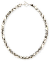 Meredith Frederick Irina Faceted Sterling Silver Bead Necklace