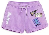 Butter Shoes Girls' Camp Patches Shorts - Sizes S-XL