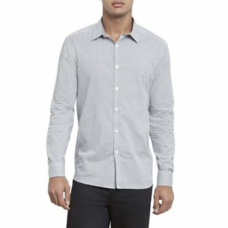 Kenneth Cole Men's Big & Tall Button Up