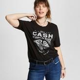 Zion Rootswear Women's Plus Size Johnny Cash® Man In Black Tee Black Juniors')