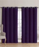 Victoria Classics Neil Blackout Grommet 52'' x 90'' Curtain Panel