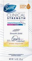 Ulta Secret Clinical Strength Smooth Solid Deodorant