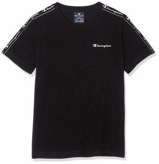 Champion Boy's Seasonal Taped Small Logo T-Shirt