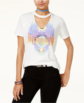 Freeze 24-7 Freeze Juniors' Cotton Choker T-Shirt