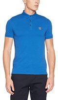 BOSS ORANGE Men's Pavlik T-Shirt, Blue ( Blue 420)