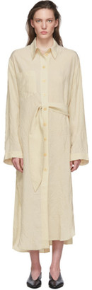 Nanushka Beige Mona Dress