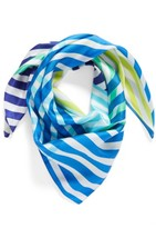 Echo Women's Cambon Stripe Silk Square Scarf