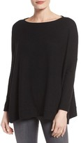 Gibson Petite Women's Boxy Fleece Top