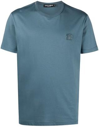 Dolce & Gabbana logo-plaque cotton T-shirt