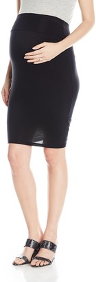 Ripe Maternity Women's Maternity Mia Plain Skirt