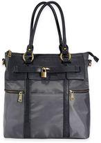 Newlie Louise Backpack Diaper Bag in Grey