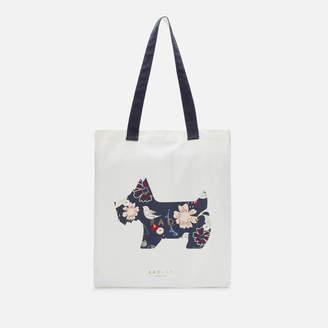 Radley Women's Heritage Dog Painterly Floral Medium Tote Bag - Ink