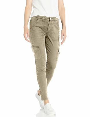 Daily Ritual Stretch Cotton/Lyocell Women's Skinny Cargo Pants