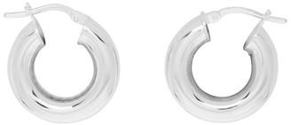 Sophie Buhai Silver Tiny Hoop Earrings