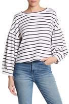 Ten Sixty Sherman Stripe Blouson Sleeve Sweatshirt
