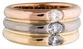 Cartier 18K Diamond Ellipse Ring