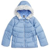 The North Face Toddler Girl's Polar Water Repellent Down Parka
