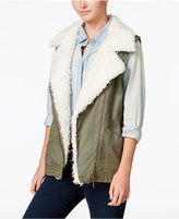 Sanctuary Alexis Faux-Fur-Trim Vest