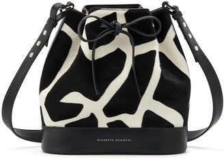 Giuseppe Zanotti Selly bucket bag