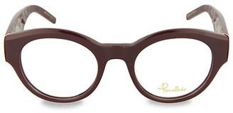 Pomellato 49MM Round Optical Glasses