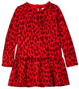 Kate Spade Drop Waist Ruffle Dress (Toddler & Little Girls)