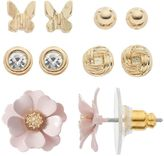 Lauren Conrad Flower, Butterfly & Knot Stud Earring Set