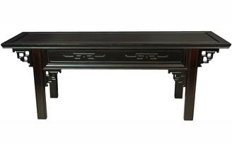 Oriental Furniture Handmade Rosewood Bench